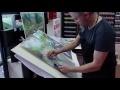 Démonstration aux pastels secs JAXELL par Stéphane Le Mouël