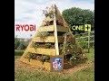 Réalisation d'une pyramide fleurie - Projet Ryobi Tools One +