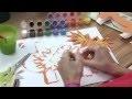 Le lion - tutoriel de collage pour enfants - tutokid