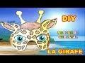 Masque de girafe : Fabrication masque d'animaux pour Carnaval