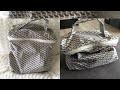 Comment coudre une TROUSSE DE TOILETTE VANITY / tuto facile couture doggy bag