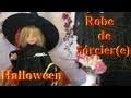 Fabriquer une robe de sorcier ou sorcière pour Halloween   Bricolage avec les enfants