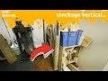 fabrication de stockage vertical pour mon rangement pseudo mobile - miniEpisode