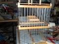 Cage attrape pour oiseaux