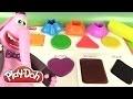 Pâte à modeler Play Doh Apprendre les Couleurs et les Formes Shape & Learn
