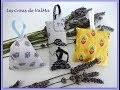 Sachets de Lavande  - Tuto couture ValMa
