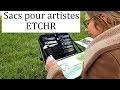 Sacs pour artistes Etchr