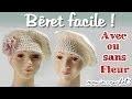 Comment faire un beret pour femme facile au crochet  pas à pas, tuto, diy Bonnet