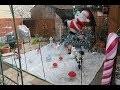 Tuto déco de Noël : Comment faire un paysage de neige avec un voile d'hivernage ?