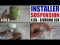 installer une suspension lidl livarno lux douille dcl installation pose plafonnier luminaire lustre