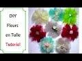 Comment Faire des Fleurs en Tulle : Tutoriel Ultra Facile