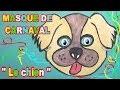 Masque de chien : Fabrication masque d'animaux pour Carnaval