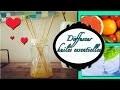 Comment faire un diffuseur d'huiles essentielles ou un parfum d'intérieur 100% naturel DIY