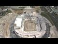 Revivez la construction du Grand Stade de l'OL en vidéo
