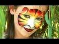 Maquillage masque de tigre - Tutoriel maquillage des enfants