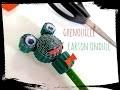 diy grenouille carton ondulé crayon