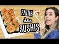 COMMENT FAIRE DES SUSHIS FACILEMENT