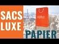 Comment sont fabriqués les sacs papier Luxe