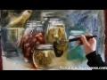 Aquarelle nature morte - Veronique  Legros Sosa (temp réel 25 mn)