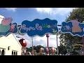 Peppa Pig World ♥ Le parc de Peppa Pig Paultons Park Maison Train Ecole