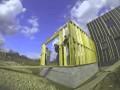 3GBois Construction d'une maison a ossature bois contemporaine en timelapse