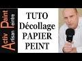 ✋N°36 COMMENT DECOLLER du PAPIER PEINT detapisser facilement sans abimer mur ACTIV PAINT