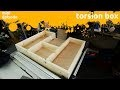 fabrication d'une torsion box (à roulettes) pour ma nouvelle machine à coudre - miniEpisode