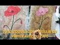 Peindre à l'ACRYLIQUE  FACILEMENT -  coquelicot