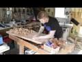 Fabrication des plateaux pour l'établi périphérique de l'atelier Partie#1 - Wood working