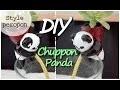 diy panda plante, auto-nourrissante, style chuppon peropon