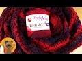 """Crocheter un châle """"Lampe de nuit"""" en Woolly Hugs Bobbel Socks"""