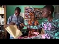 Fabrication de sacs en papier recyclé au Bénin