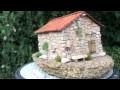 Miniature maison Corse