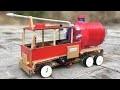 Comment Faire Du Camion De Pomp Rc À La Maison Hors Du Carton Et Des Bâtons De Popsicle - Voiture D