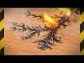 Graver la FOUDRE sur du bois ! - Figures de Lichtenberg - [Science 2.0]