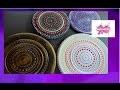 DIY. Dessous de plat Mandala // Trivet Mandala.