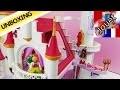 Le plus grand château Playmobil ! - Château de princesse Playmobil   Unboxing et Construction