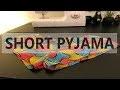 | TUTORIEL # 5 | SHORT PYJAMA EN TISSU AFRICAIN WAX |PATRON & COUTURE |