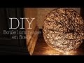 DIY décoration  - Boule lumineuse - Jolie Licorne