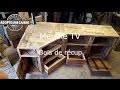 Fabriquer Meuble TV Angle Récup MAKER  DIY