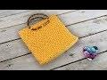 Sac à main jasmin ensemble porte monnaie by Lidia Crochet Tricot