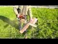 Chevalet pour tronçonneuse : un système ingénieux