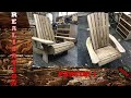 Adirondack en bois de recuperation #1