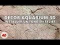 Installer un décor 3D pour aquarium