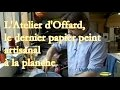 L'Atelier d'Offard, du papier peint artisanal à la planche