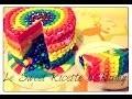 Comment faire un gâteau arc en ciel Piñata