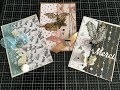 TUTO Scrap : Cartes Rapides, Faciles, avec Papiers, Embellisements ACTION