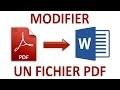 Comment modifier et convertir un fichier PDF facilement