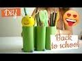 activité manuelle Pot crayons chenille