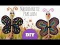 Bricolage facile pour enfants - Marionnette papillon avec une cuillère en bois